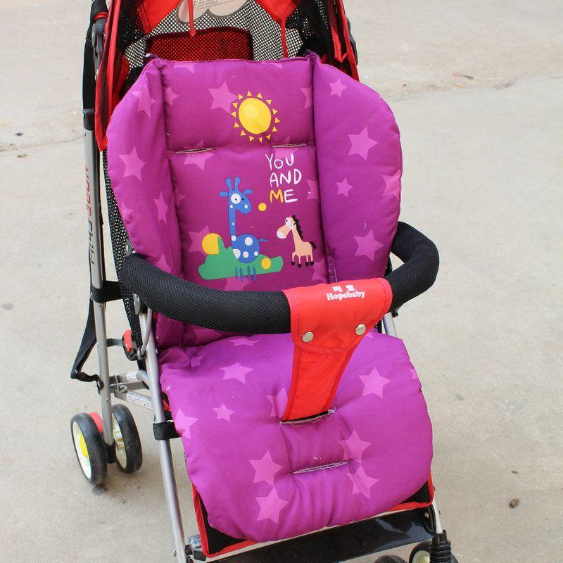 Bambino neonato Passeggino Cuscino Sedile Passeggino Bambino Sedia Stuoia Cuscino Cuscino Morbido di Spessore Carrozzina e Passeggini