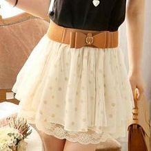 frete grátis 2014 novo moda das mulheres sexy chiffon mini saias cintura alta femininos do clube meninas usam skrits kr580 qualidade garantida(China (Mainland))