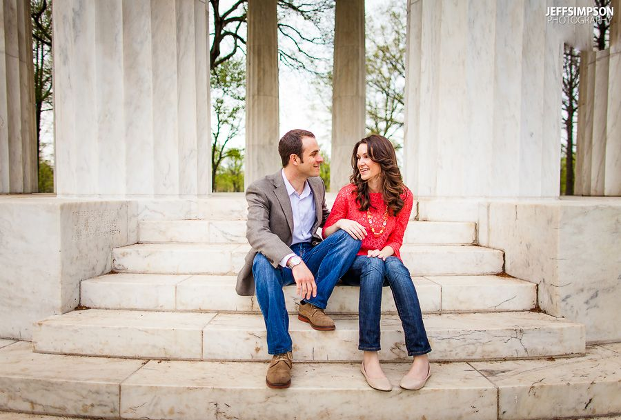 Hilary & Ryan // DC Engagement | Modern Weddings & Engagements ...