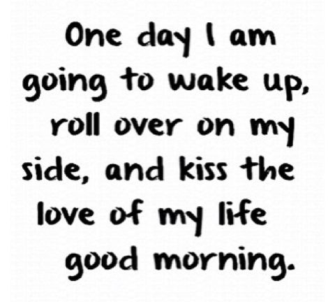 One day sure