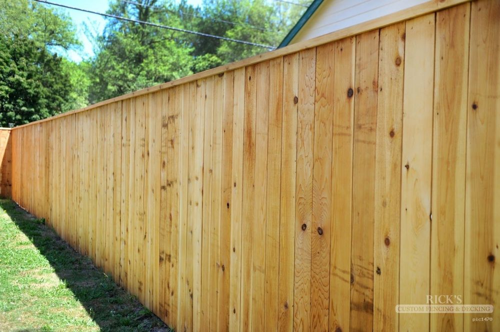 Cedar Fence Cedar Fence Designs Rick S Custom Fencing Decking Fence Design Cedar Fence Wood Fence