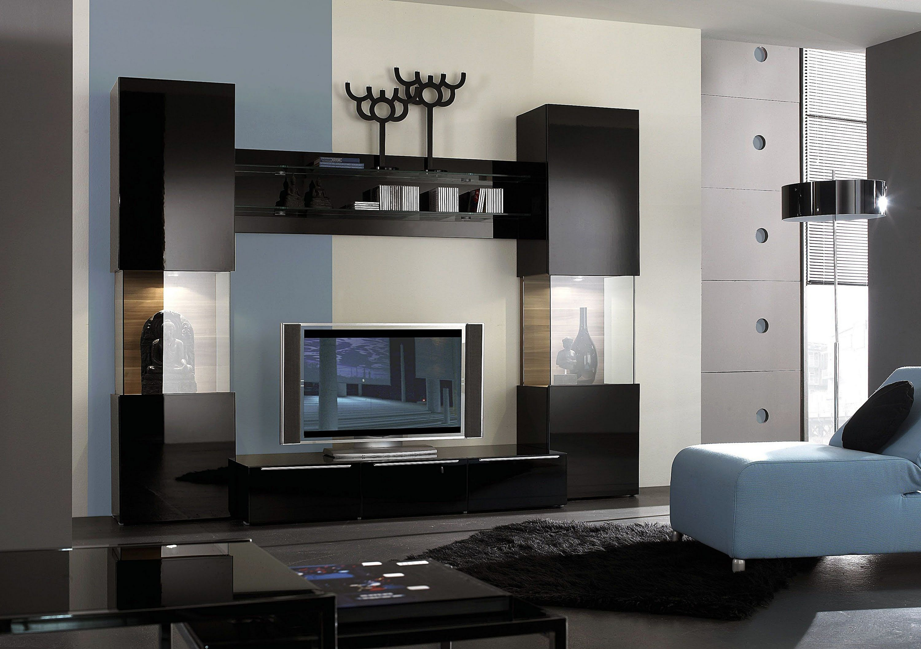 35 Stunning Wall Units Designs For Cozy Living Room Ideas Modern
