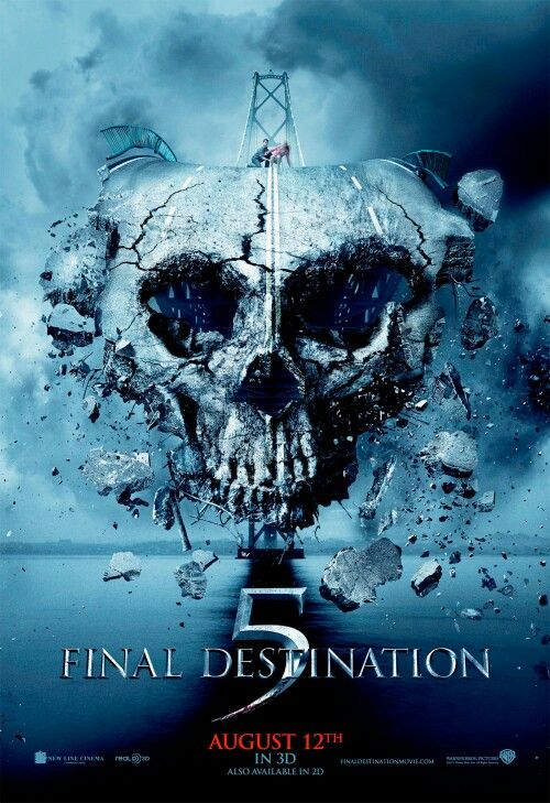 762  Final Destination 5 (2011) ** directed by Steven Quale | Horror