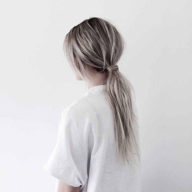Blonde Grey Hair Vsco Faithlord B E A U T Y