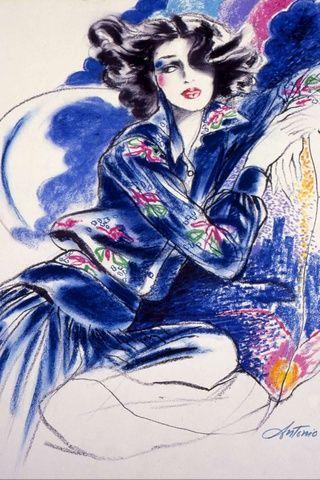 El Tributo De M A C A Antonio Lopez Fashion Illustration