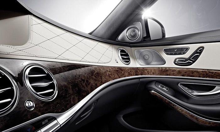 Interior Del Mercedes Benz Clase S Mercedes Clase S Mercedes Benz Clase S Clase S