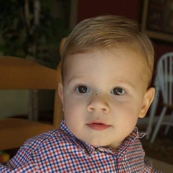 Hairstyles For Kids With Thin Hair Toddler Boy Hairstyle Fine Thin Hair Google Search For Tu Baby Boy First Haircut Toddler Hairstyles Boy Toddler Haircuts