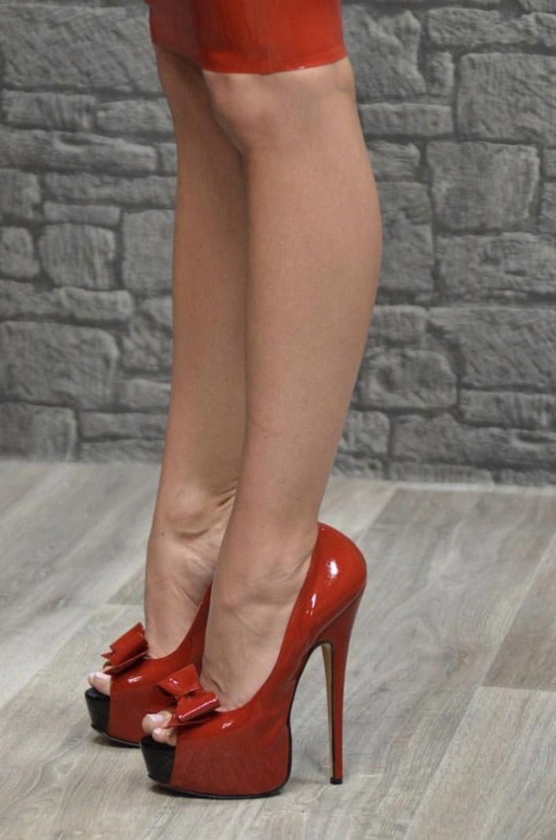 a249c97ebc8 Love ❤️ Every girl should have a pair of red heels 👠 #Highheels ...