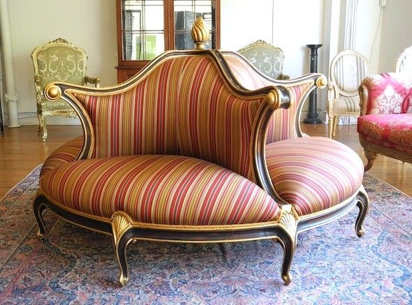 Christopher Guy Clic Round Sofa I Wish Owed A House With Giant Foyer