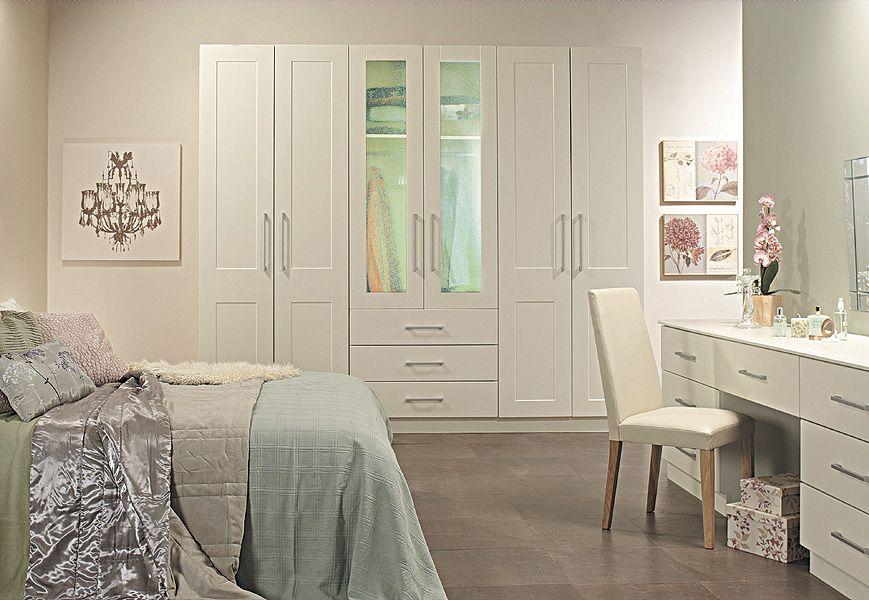 FunkyFittedBedroomCupboardsIdeasWhiteFittedMirrored - Best fitted bedroom furniture