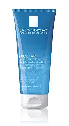 La Roche Posay Effaclar Facial Cleanser For Oily Skin Purifying Foaming Gel Face Wash 6 76 Fl Oz Cleanser For Oily Skin Gel Face Wash La Roche Posay Effaclar