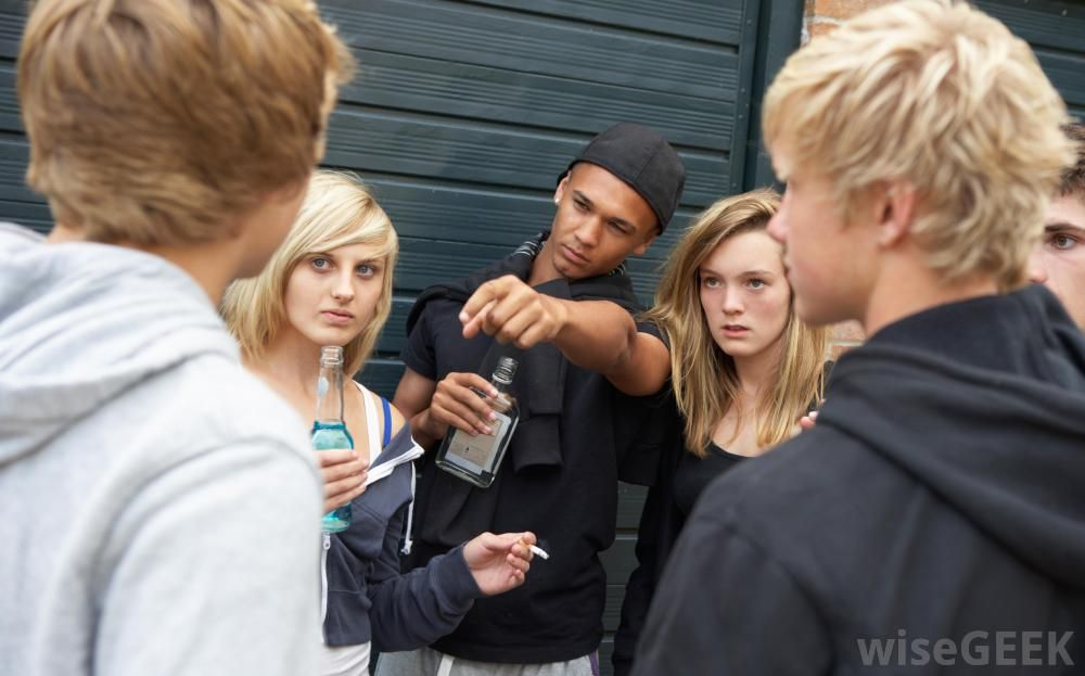 Peer pressure is something that usually affects students by middle ...