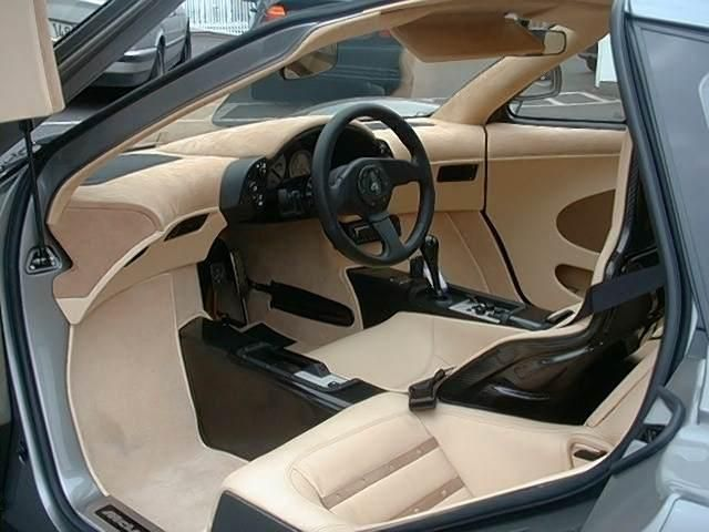 Mclaren F1 Seating Yes the driver seat is...