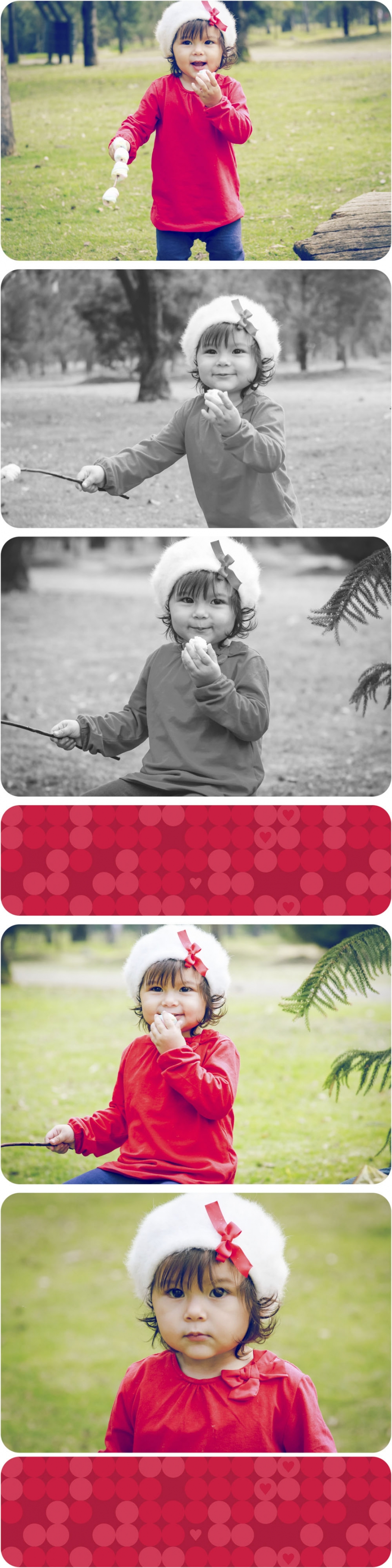 Session baby christmas family red love