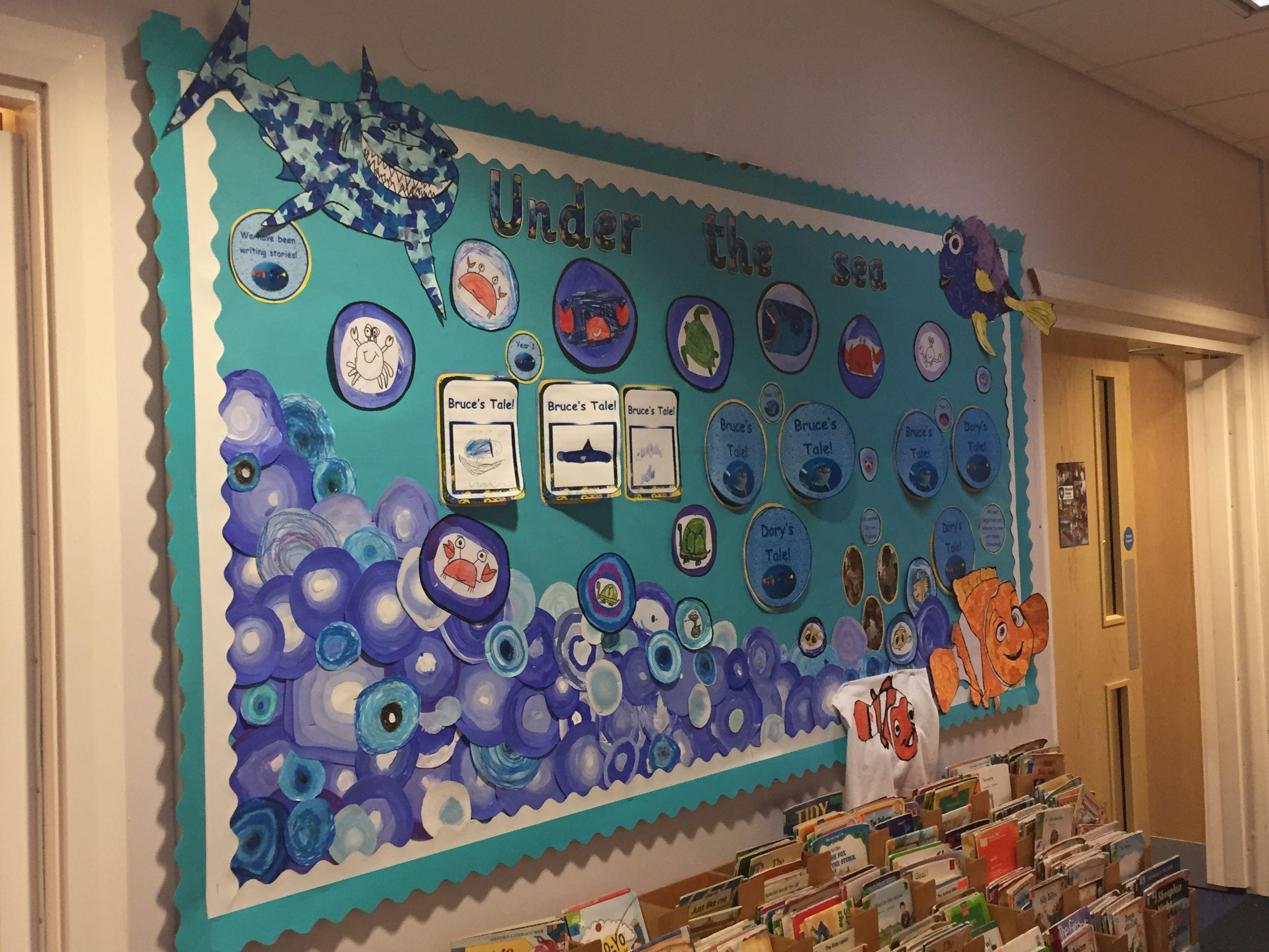 Ks1 Finding Nemo Under The Sea Display Literacy