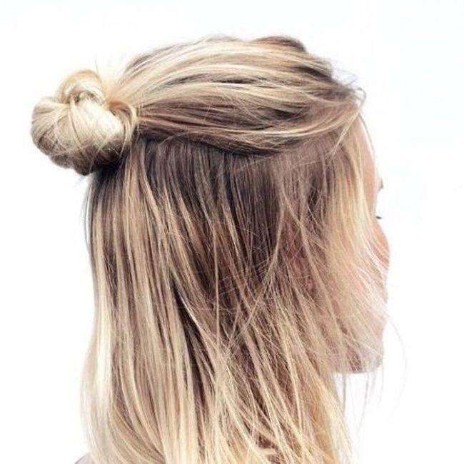 Le demi,chignon, la parfaite coiffure estivale ! Les Brèves (Page 5) ,  Tendances de Mode
