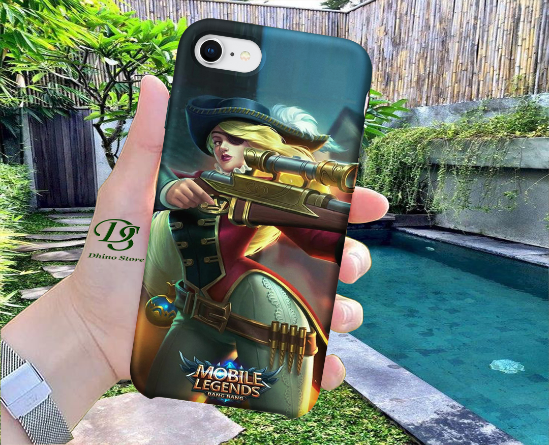 Custom Case Mobile Legend Hero Couple 1 Kami Pakai Bahan