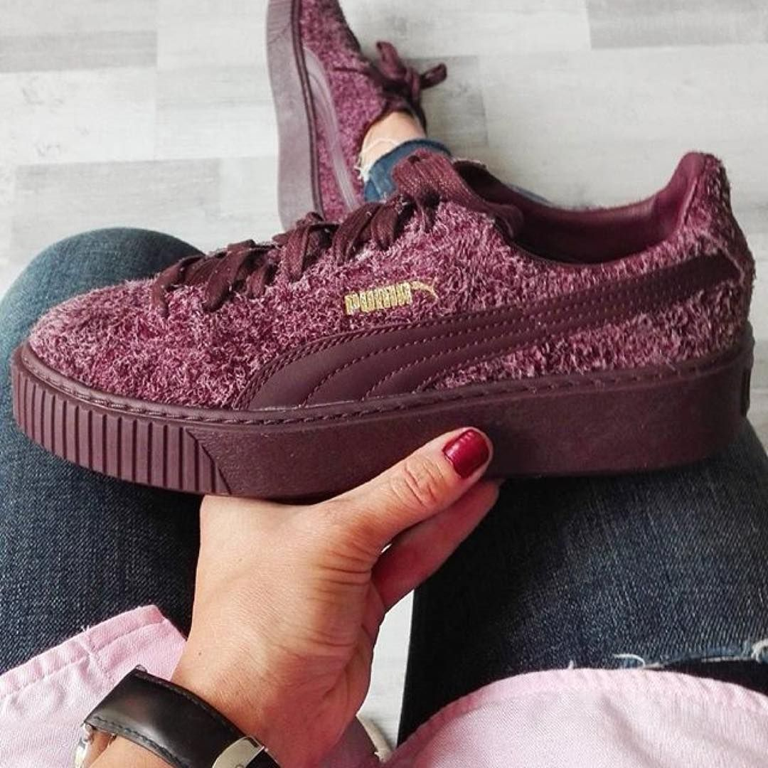 74c8c1ab Sneakers women - Puma Suede Platform (©julliiee38) | Girls with gym ...