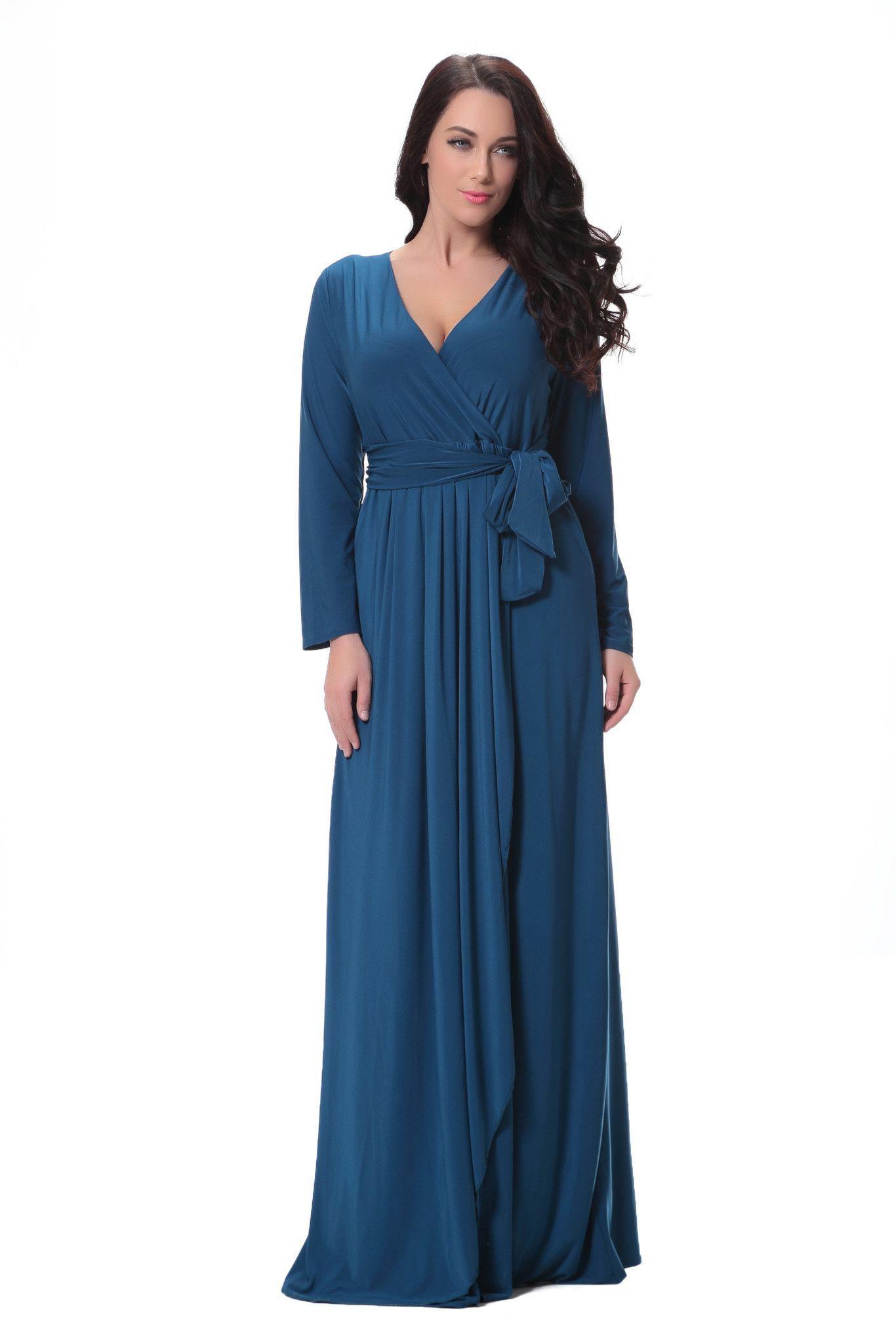 Resplendent long sleeve vneck maxi dress maxi dresses and products