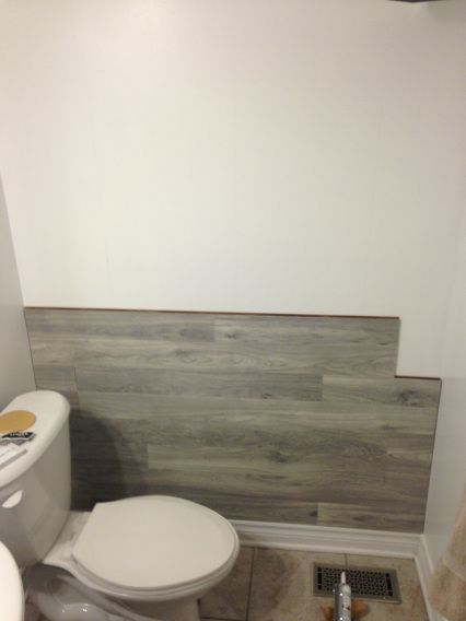 Bored To Floored Laminate Floor Accent Wall Diy Laminate