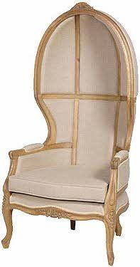 Genial Chateau Oak French Canopy Chair