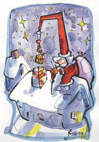 MERRY CHRISTMAS!  By Kestutis