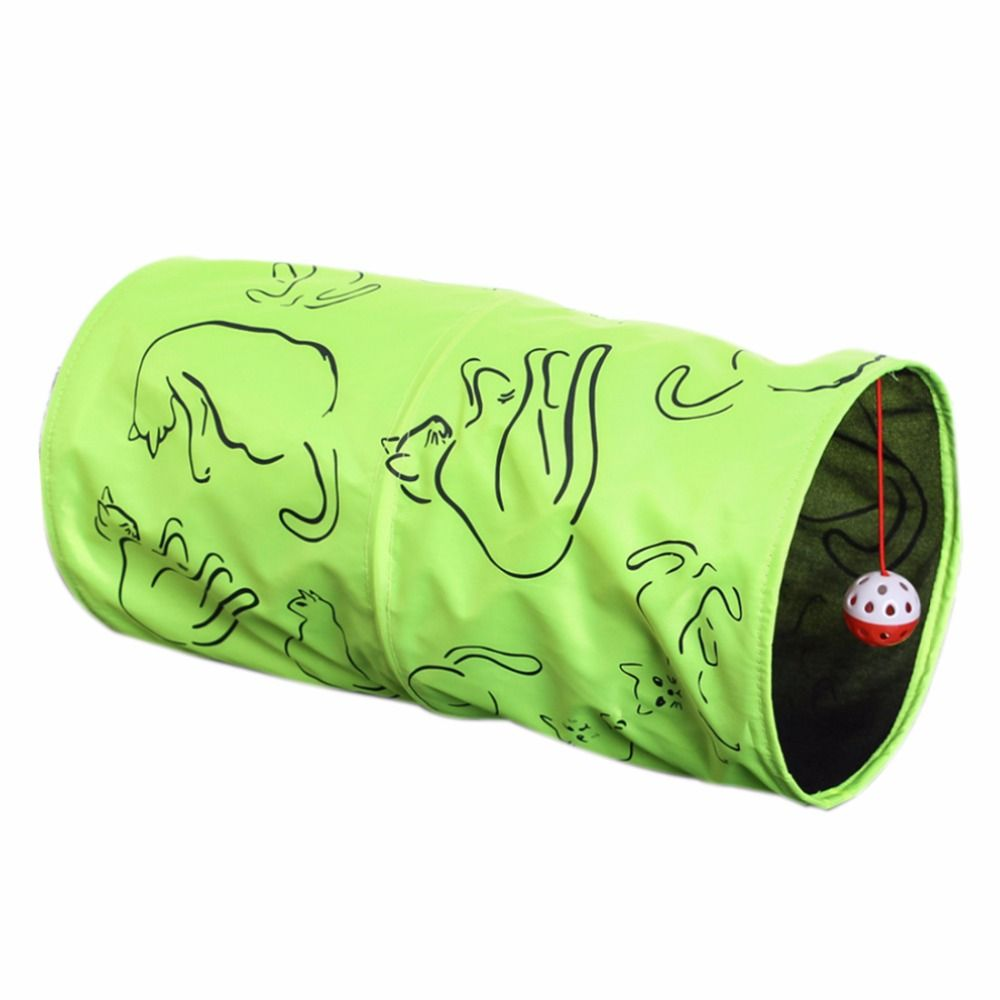 New Cat Tunnel Play Channel Foldable Collapsible Pet Cat Tunnel Drill Folding Tent Nest Cat Toys  sc 1 st  Pinterest & New Cat Tunnel Play Channel Foldable Collapsible Pet Cat Tunnel ...