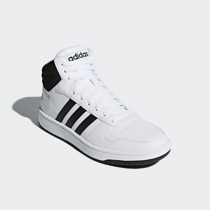 Hoops 2.0 Mid Shoes White 10.5 Mens in 2019 | Products