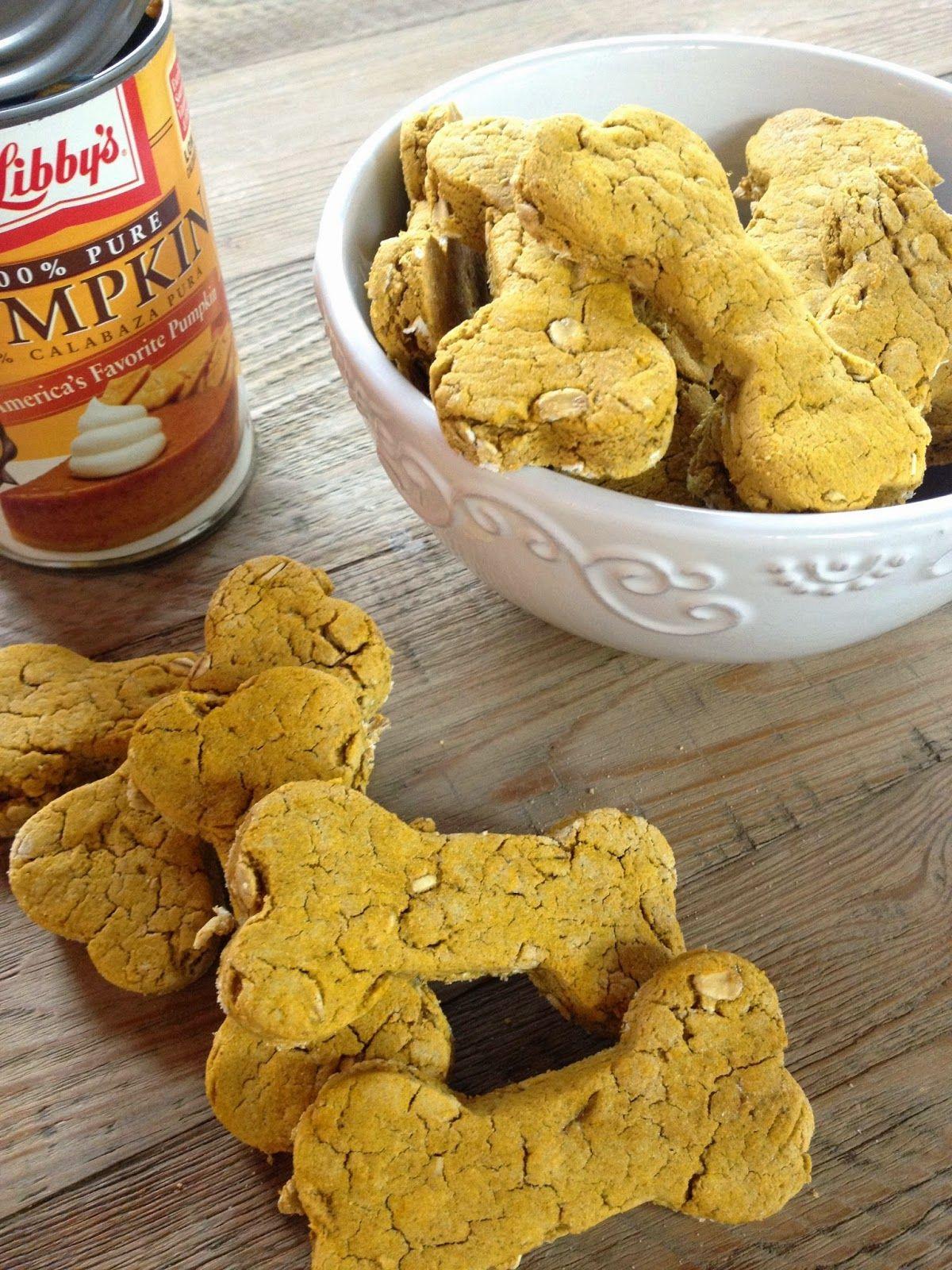 Pumpkin Spice Dog Treats Gluten Free Great Fall Recipe