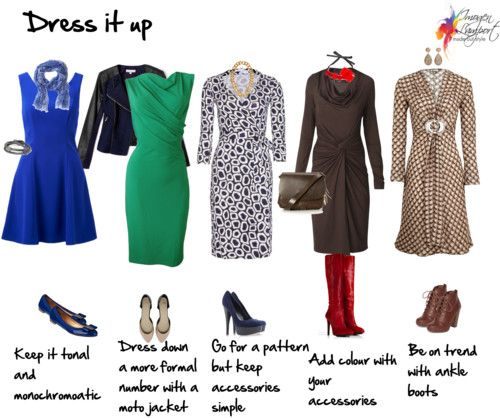 Dress it Up - wear a dress for any occassion #fabstyle