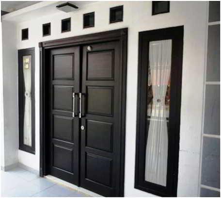Model Desain Pintu Utama Minimalis Doors In 2019 Rumah Minimalis
