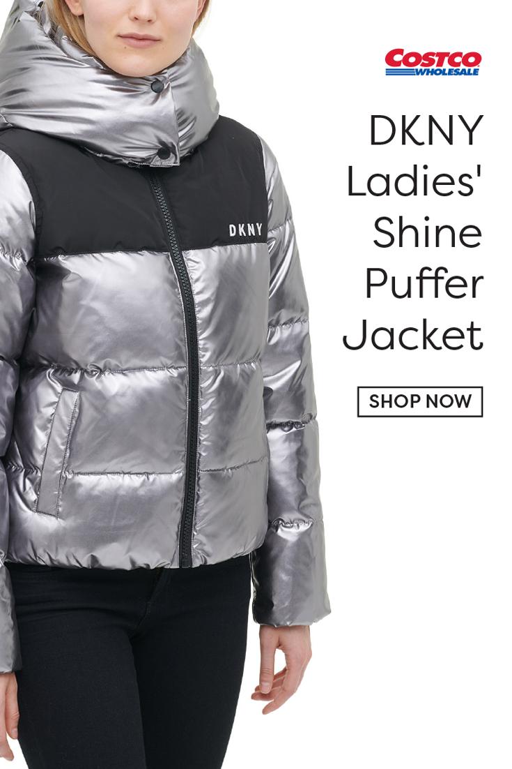 Dkny Ladies Shine Puffer Jacket Puffer Jackets Jackets Dkny [ 1102 x 735 Pixel ]