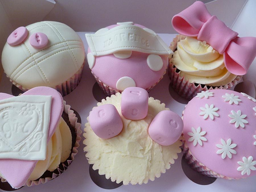Baby Shower Cupcakes Ideas for a Girls Baby Shower ...