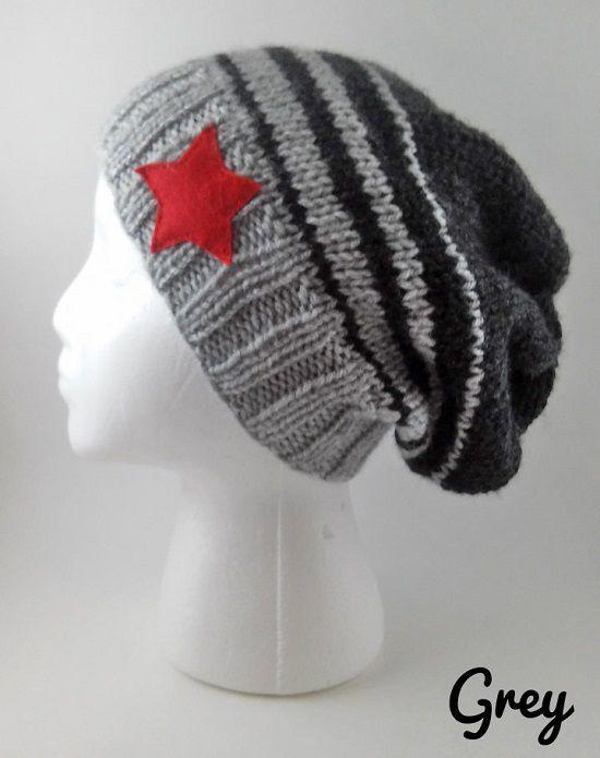 Un bonnet en tricot sur le thème des Avengers à l image de Captain America,  Iron Man, Black Widow, Hawkeye ou bien du Winter Soldier, est une bonne ... a6b3ab80ea7