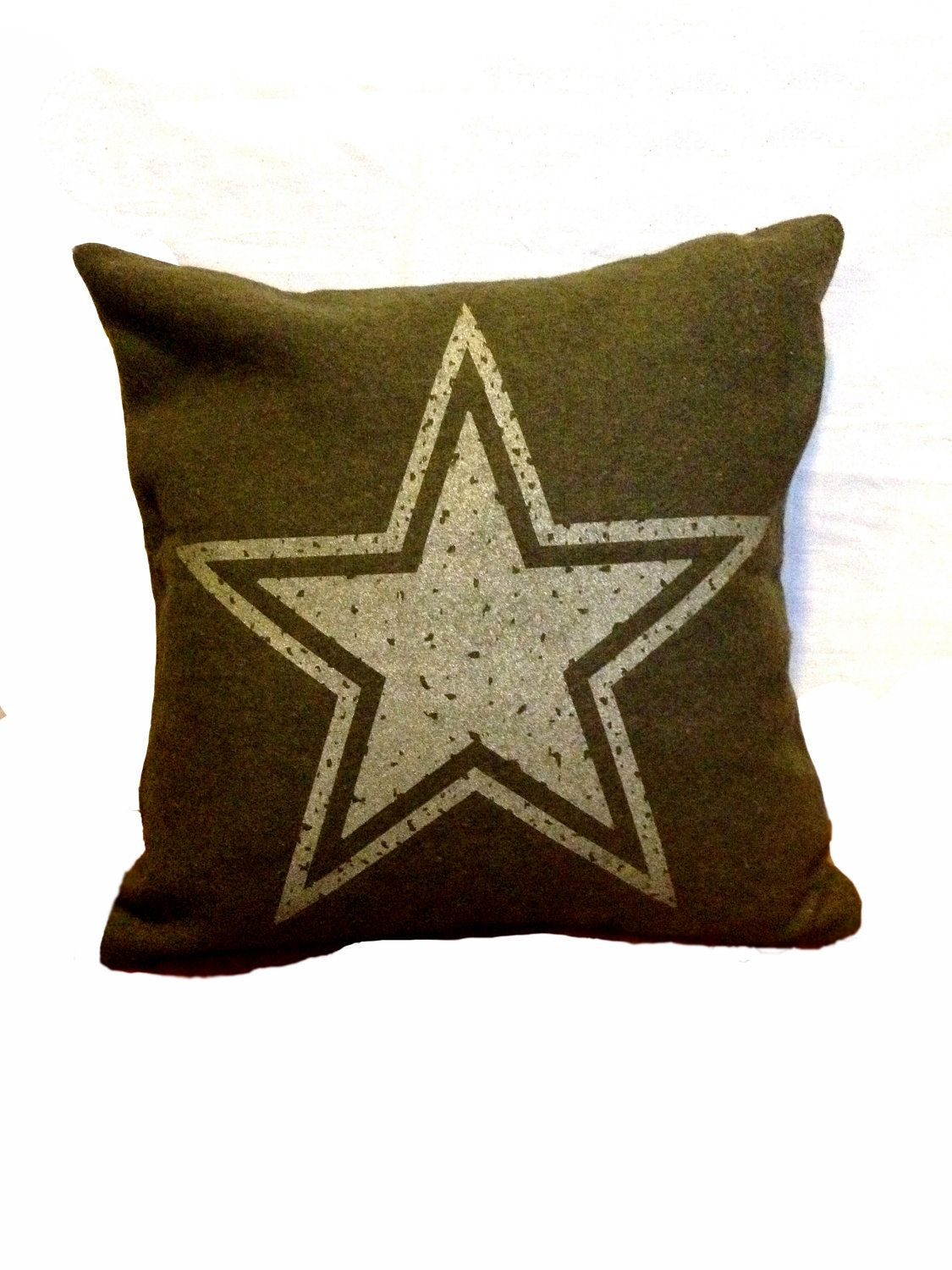 Military Bedroom Decor Star Pillow Cover From Military Blanket Military Blankets And Stars