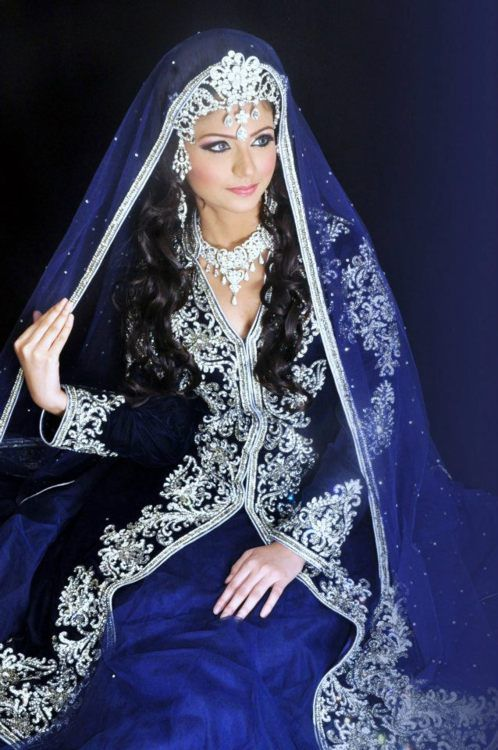 A long time ago blue was the color for wedding dresses it for White kaftan wedding dress
