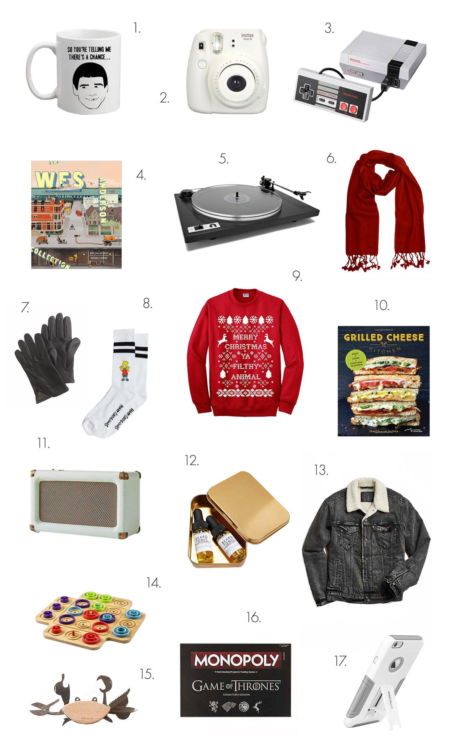 Holiday Gift Guide for Guys | gekaufte Geschenke | Pinterest ...