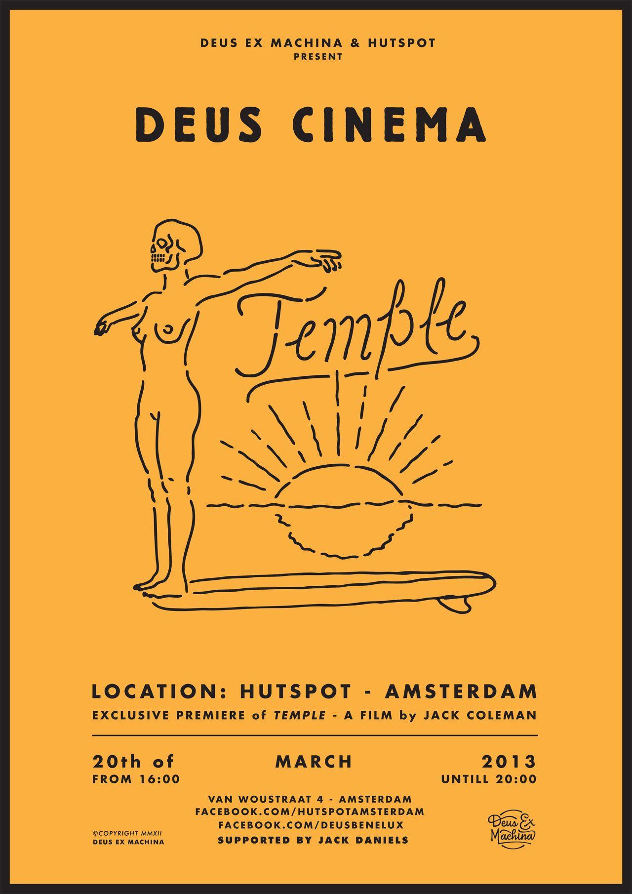 Event Invite For Deus Ex Machina Design Graphic Design