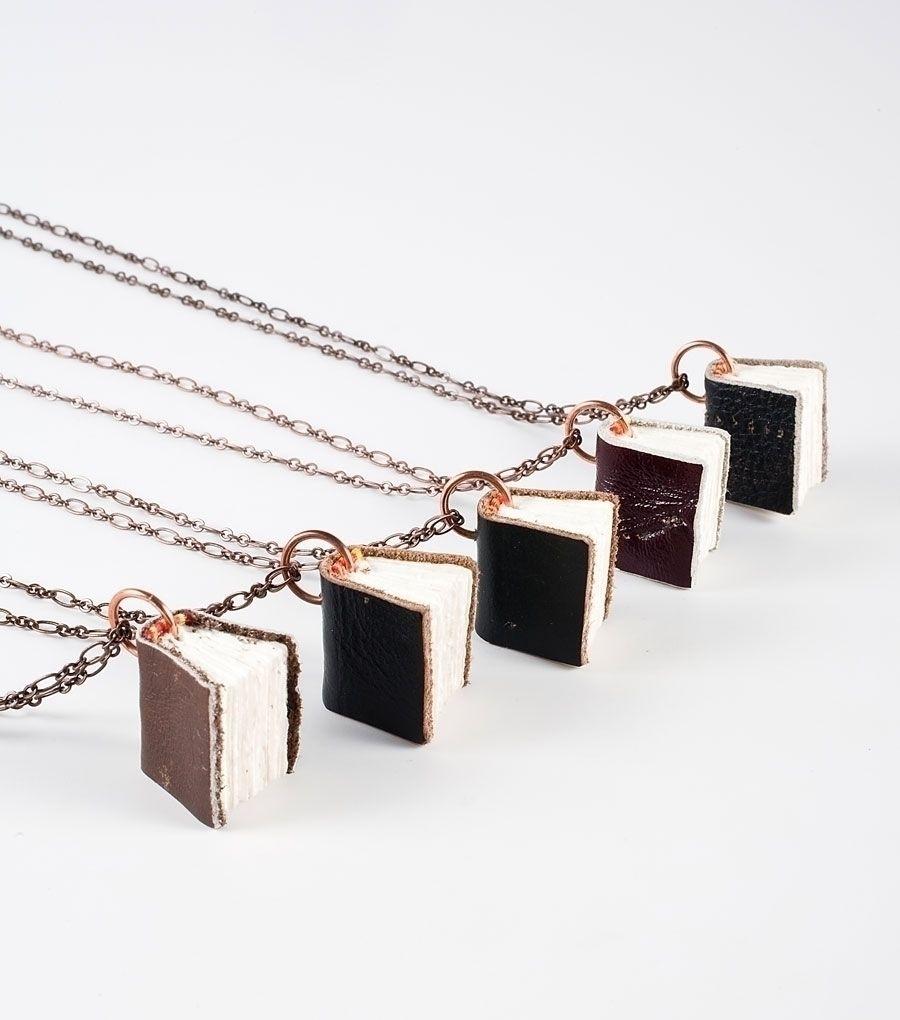 catbird::Black Spot Books Necklace - ON SALE!