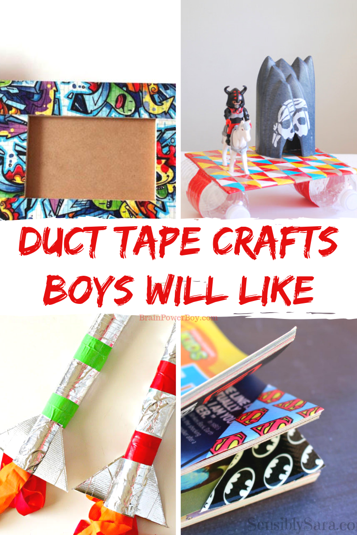 Cool Duct Tape Crafts For Boys To Make Duct Tape Crafts Tape Crafts Crafts For Boys