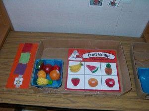 Asociación de frutas objeto- imagen. #TEACCH #TEA #match #Habilidades cognitivas