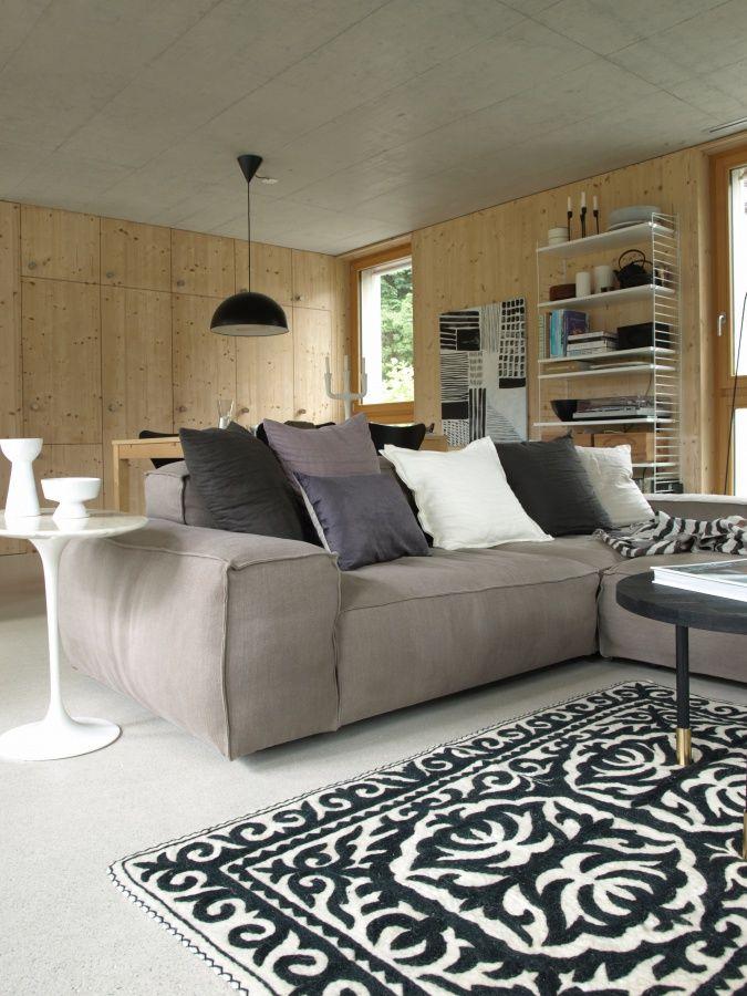 Wohnzimmer mit neuem Teppich Living room Pinterest Cozy
