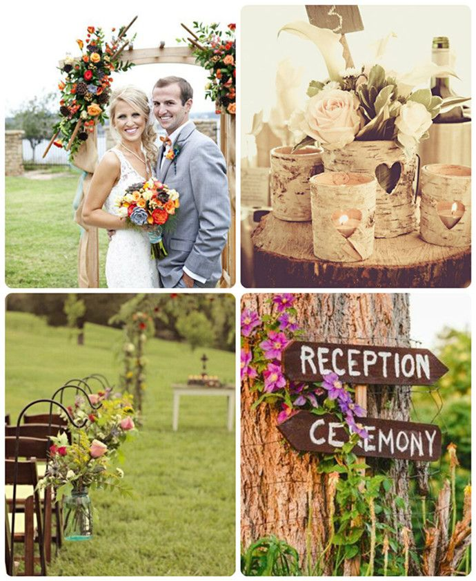 Very Low Budget Wedding: 2013 Wedding Trends—Outdoor