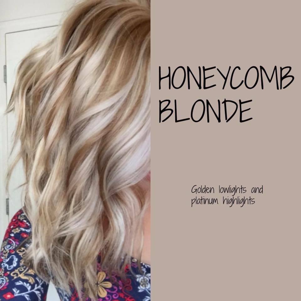 Honeycomb Blonde Hair Amp Make Up Pinterest Honeycombs