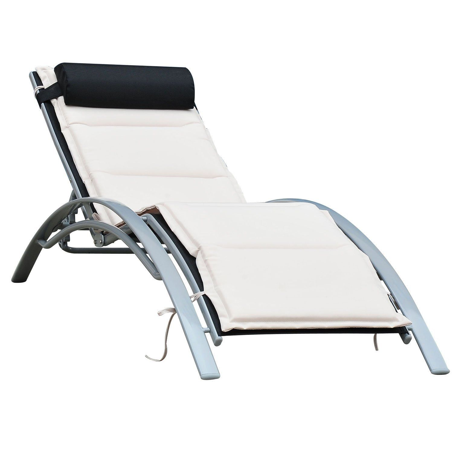 Relaxliege Mit Kippfunktion Relaxliege Garten Mit Kippfunktion Wir Haben Es Jemals Gesehen Von Relaxliege Garten >>> Beliebt… | White Patio Furniture, Sun Lounger, Patio Lounge Chairs