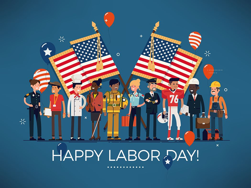 Labor Day is an annual holiday to celebrate the economic