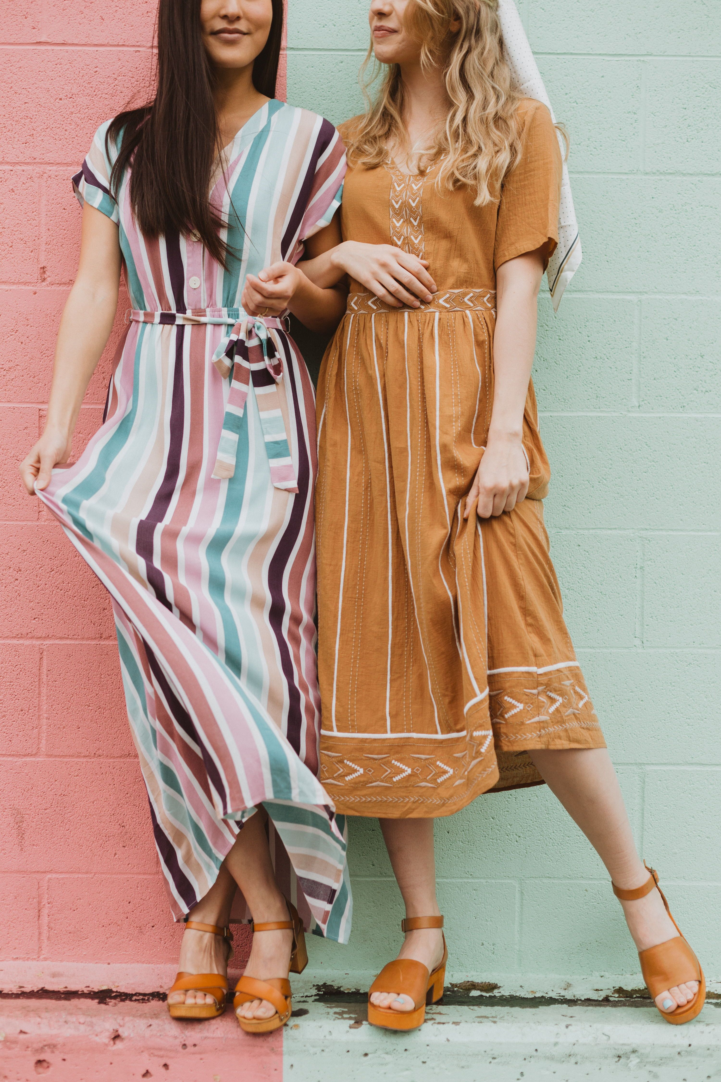 The Cha Cha Striped Maxi Dress Is As If All Your Favorite Things Came Together As A Dress It Is Nursing Frien Vertical Striped Dress Dresses Clothes For Women [ 4500 x 3000 Pixel ]