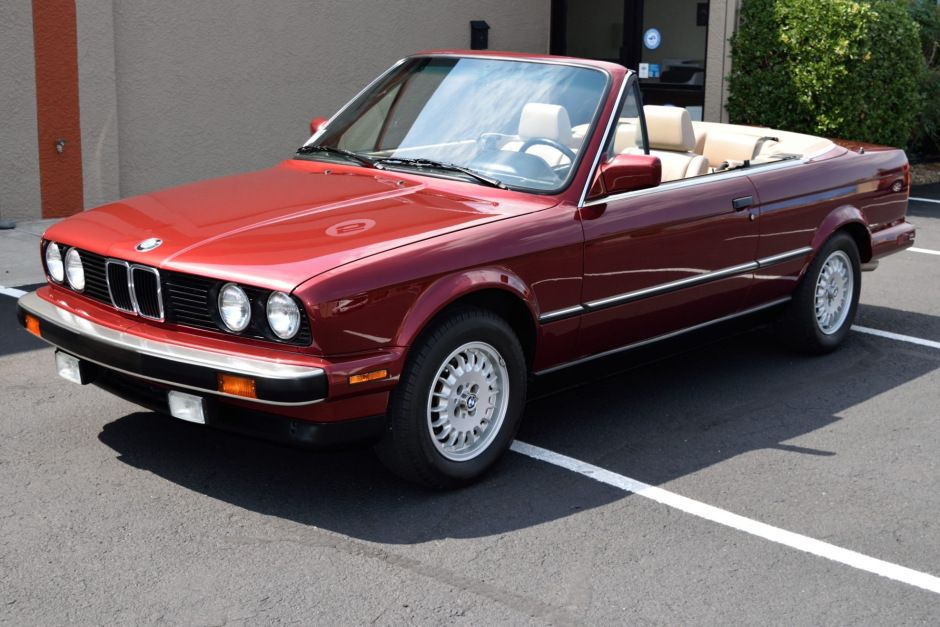 1990 Bmw 325i Convertible In 2020 Bmw Convertible Sport Seats
