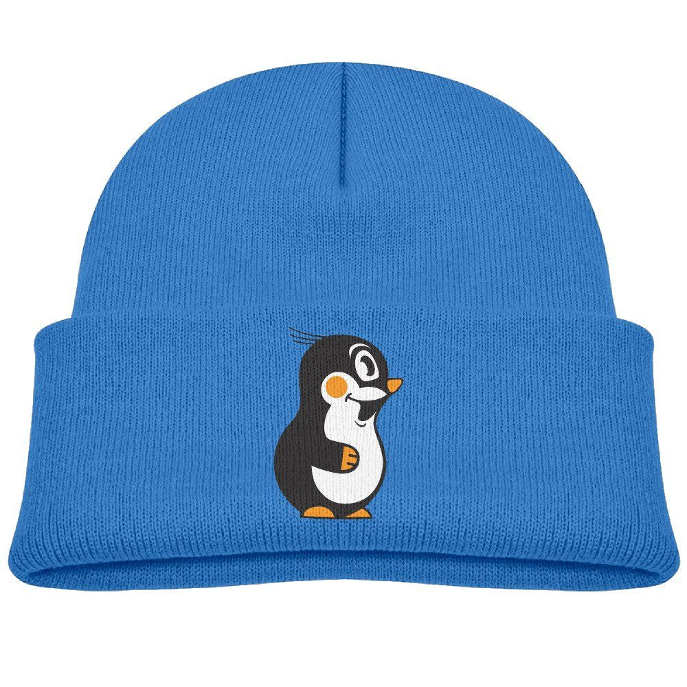 Youth Kids Penguin Boys And Girls Flexible Wool Winter Knit Hats For Children RoyalBlue. Winter Warm Beanie Hat For Childen. Items Are Unisex For Youth Flexible Skullies Caps. This Is The Perfect Accessory For All Outdoors Activities Walking, Hiking, Camping, Skiing, Fishing. Logo On The Front,can Be Customized. Delivery Days:6-15 Business Days.