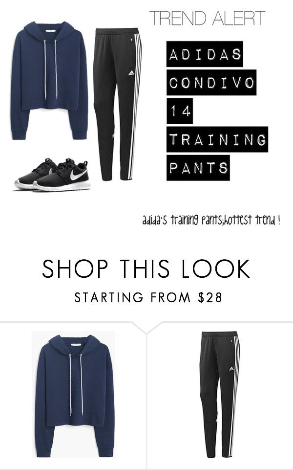 """""""TREND ALERT #2"""" by vuenatalie on Polyvore featuring MANGO, adidas, NIKE, women's clothing, women, female, woman, misses and juniors"""